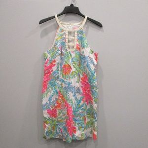 Lilly Pulitzer Dress Size 12 Bright Floral Colors